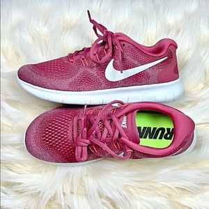 Nike Sneakers Running Shoes Pink